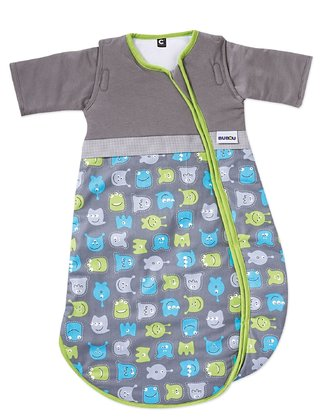 Gesslein 寶寶睡袋 Bubou, 小怪獸款 - The Gesslein sleeping bag is the ultimate must-have accessory for your child's nursery.