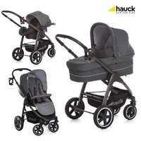 Hauck 三合一兒童推車組合 Soul Plus -  * When combined with the CARRYCOT you can use the Hauck Soul Plus right from birth and provide your little one a cosy and safe place to snuggle up. The carrycot can be attached easily to the chassis via the Easy-Fix system.
