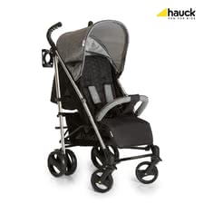 Hauck 輕便推車 Vegas -  * The stylish Hauck Buggy Vegas offers high comfort while scoring with versatile features such as the aluminium chassis, elegant honeycomb-patterned fabrics, a chic bottle holder as well as a push bar with grips that fit perfectly to the hand.