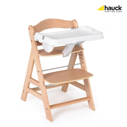 Hauck Alpha餐椅附加餐桌墊 -  * This detachable tray is the perfect addition to your Hauck High Chair Alpha, since from now on your little one can have meals on his or her own table.