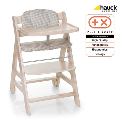 Hauck 餐椅 Beta+ Plus -  * The Hauck High Chair Beta+ is a flexible all-purpose high chair that lasts a lifetime.