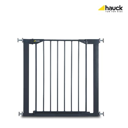 Hauck 門護欄 Stop'n Safe -  * The Hauck Baby Gate Stop'n Safe is equipped with a two-stage colour indicator that guarantees easy and safe use. If the indicator is red the gate is open, if it is grey the gate is closed.