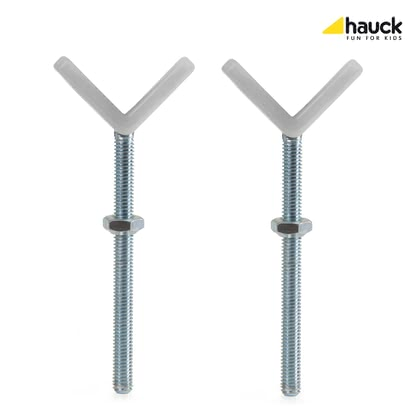 Hauck 護欄Y型螺絲 -  * With the Hauck Y-Spindles you can safely attach the Baby Gates Open'n Stop, Close'n Stop and the Wood Lock Safety Gate to banisters with round and oval columns that have a diameter of up to 10 cm.