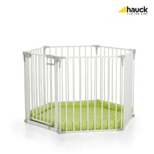 Hauck 多功能護欄 Baby Park -  * The versatile Hauck Playpen Baby Park makes your home child-proof while still maintaining your place's decorative charm. It can be used as a playpen, fire guard, baby gate and barrier for larger spaces.