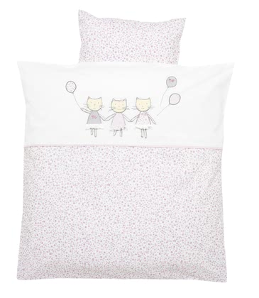 Alvi® 床上用品-80 x 80 cm -  * The beautiful bed linen by Alvi will make your little sweetheart sleep peacefully at all times.