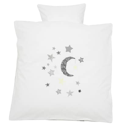 Alvi® 被套組 –  銀色星星款 -  * Sleeping in this beautiful bedding by Alvi will make your child happy and pleased.