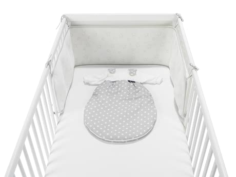 Alvi  嬰兒床星星遮板 Nestchen Air -  * The Alvi Cot Bumper Air with Star Print lets your little one sleep most comfortably in his or her cot.