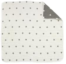 Alvi 嬰兒毯 Suppermull 105 x105 cm -  * The Alvi super-gauze blanket is perfect for your child to crawl, play and sleep on.