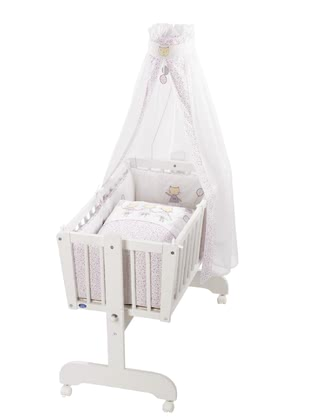 Alvi搖籃整套套裝 Sina款 -  * The classic Alvi cradle stands out as the perfect sleeping place for new-born babies.