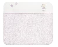 "Alvi 尿布台墊 銀色星星款 -  * The Alvi changing mat with the cover ""Silver Star"" is particularly soft and cosy and provides the perfect place for your little one to feel comfortable and safe."