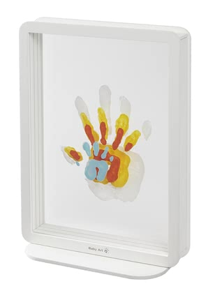 Baby Art全家手足紀念印 -  * Create your very own and personalised keepsake of your family. This trendy acrylic picture frame is perfect for keeping a special moment in bright colours.