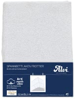 Alvi松緊式床罩 天然有機 適用於嬰兒床拼接床 -  * With the Alvi fitted sheet, your little one will feel like sleeping on clouds.
