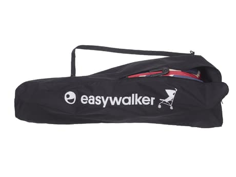 Easywalker 推車收納袋 -  * This Easywalker Travel Bag in the colour black with a great embroidered emblem makes transporting and storing your buggy super easy. Once the collapsed Easywalker buggy is stored in this bag the shoulder strap helps you to carry it easily over your shoulder.