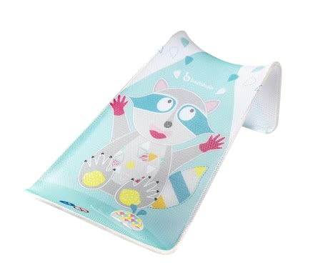 "Badabulle 浣熊沐浴輔助板 -  * Badabulle's bath support ""Racoon"" turns bathing into the most comfortable and relaxing thing for your little one."
