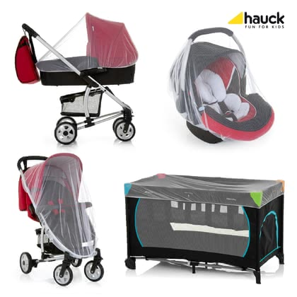 "Hauck 專用防蟲蚊帳 Protect me -  * To make sure that your little one's sleep is not disturbed during the summer you definitely need to get the Hauck Mosquito Net ""Protect Me"" as an indispensable accessory for any stroller, infant car seat carrier or travel cot."