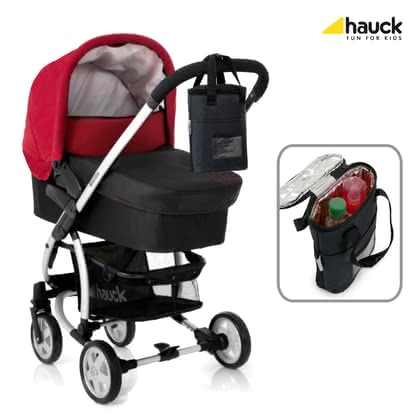 "Hauck 雙瓶保溫袋 Refresh Me 2 -  * The perfect accessory for families with twins or siblings: Due to its double insulation the Hauck Insulating Bottle Bag ""Refresh Me"" keeps the contents of baby's bottle cool or warm for a longer time – even in extreme temperatures."