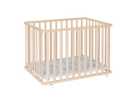 Geuther 圍欄 Leela (76 x 102,5 公分) -  * The playpen Leela by Geuther is the space-saving version of a standard playpen.