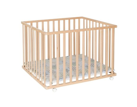 Geuther 圍欄 Leela (94 x 102,5 公分) -  * The playpen Leela by Geuther is the space-saving version of a standard playpen.