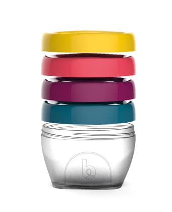 Babymoov嬰兒輔食保鮮盒套裝S 120ml-4件裝 -  * If you're looking for the best way to store your little one's delicious homemade meals, then Babymoov's baby food storage bowls Babybols are just the right choice!