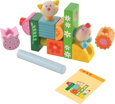 "Haba堆疊益智玩具貓咪和老鼠 -  * Haba's stacking game ""Cat and Mouse"" brings ultimate fun into your child's nursery."