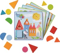 "Haba配對游戲 動物冒險 -  * Haba's matching game ""Animal Adventures"" supplies your child with many new challenges while matching the different shapes and pieces."