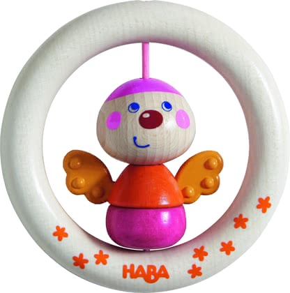 "Haba抓握玩具小蝴蝶 -  * The clutching toy ""Little Butterfly"" by Haba is a funny friend that will delight your child instantly."