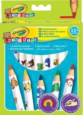 Crayola Jumbo彩色蠟筆 -  * Specifically designed for your little artist's first attempts at drawing.