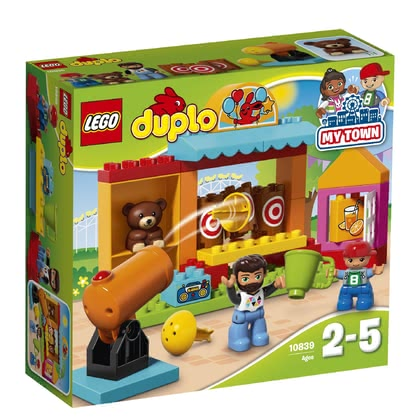LEGO Duplo 樂高得寶 投擲遊戲小商店 -  * Aim your target – ready – go! Your little discoverer will be absolutely delighted to fire the cannon at the three targets again and again.