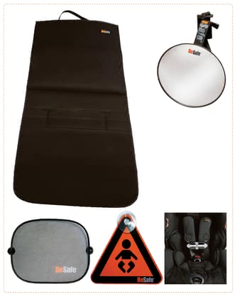 Besafe 反向安裝座椅安全組合包 -  * BeSafe's Reboard Kit contains everything needed for child car seats that are installed in a rear facing mode.