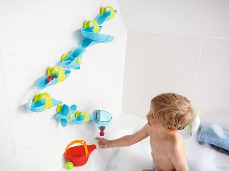 Haba 沐浴滾球水迷宮 -  * This extra-large water course is the perfect bathtub toy for little adventurers.