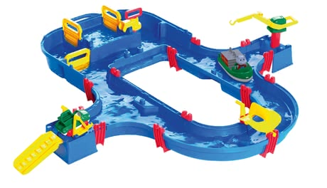AQUAPLAY 滑水道Superset -  * AQUAPLAY's Water Ride Superset is perfect for children who are fascinated by water and want to learn more about its characteristics.