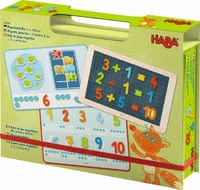 Haba 磁鐵遊戲數字組合 -  * Let the funny counting begin!