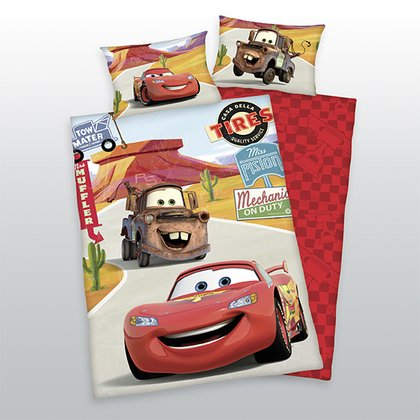 Herding 玩具總動員被套組 -  * With Herding's bedding Disney Pixar Cars your little one can recharge his batteries for new races and adventures!