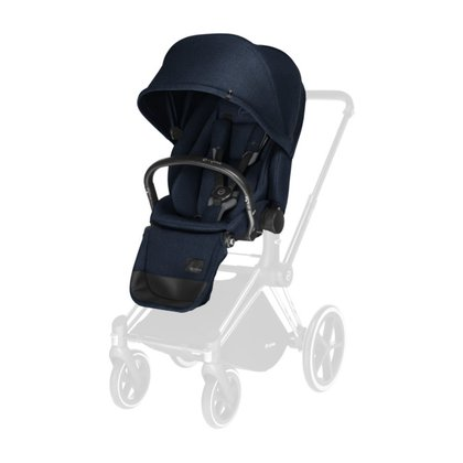 Cybex 鉑金系列 PRIAM豪華座椅 Midnight Blue_navy blue 2018 - 大圖像