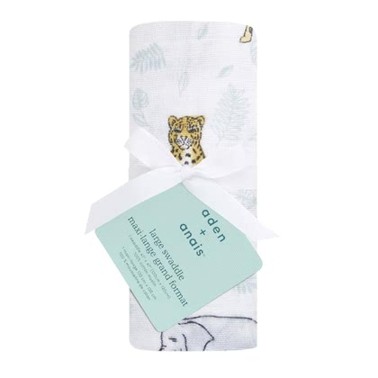 aden+anais 經典繈褓巾,單件入 -  * The versatile swaddles from aden+anais are the highlight in your everyday life with your newborn – ideal for collecting, cuddling and swaddling – a perfect gift.