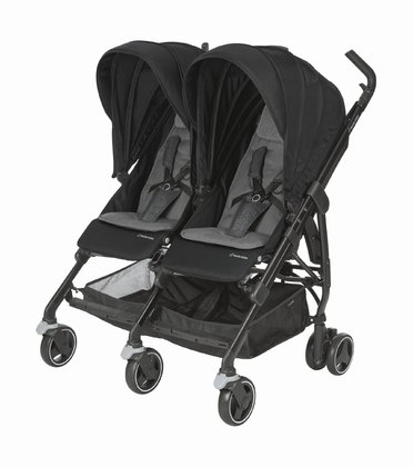 Maxi Cosi 雙人推車 Dana -  * Discovering the world together – the Maxi-Cosi Buggy Dana For2 joins in for every adventure. Twins as well as siblings can snuggle up and relax side by side. The buggy fits through any standard sized doorway and is super easy to manoeuvre.