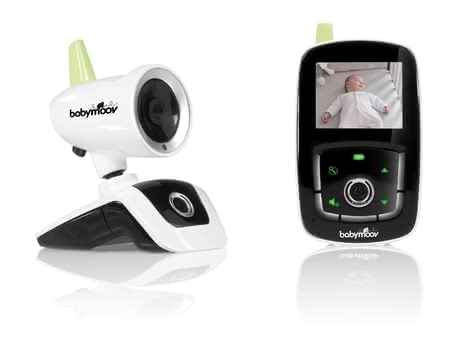 Babymoov 寶寶監聽器Visio Care III -  * Babymoov's Visio Care III watches over your sleeping child in an acoustic and visual way.