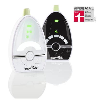 "Babymoov 寶寶監聽器Expert Care -  * Babymoov's Expert Care is a low radiation baby monitor with a range of up to 1000m. It features the Babymoov ""Digital Green Technology"" that combines perfect audio quality and digital technology with low radiation levels."