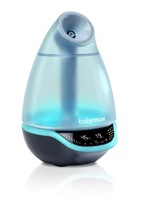 Babymoov智能加濕器Hygro+ -  * Babymoov's Hygro+ baby humidifier does not only supply your child with healthy air in the nursery, but also works as a multi-coloured nightlight and is equipped with a nebuliser for essential oils.