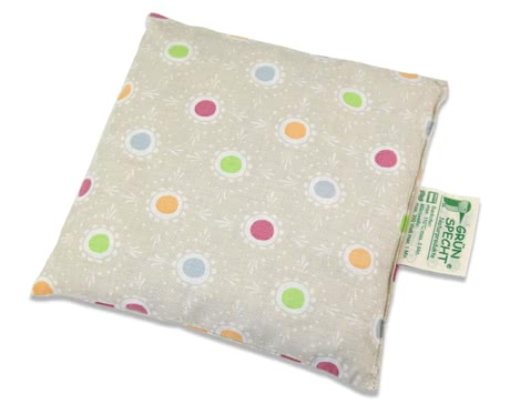 Grünspecht櫻桃核枕16 x 16 cm -  * The Cherry Pit Pillow by Grünspecht is suitable for treating babies and toddlers with heat and cold.