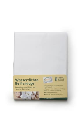 Grünspecht 防水床罩 -  * The water-resistant bed insert by Grünspecht is a particularly absorbent and soft protection for your little one's sleeping place.