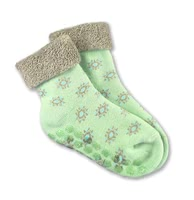 Grünspecht有機材質- 學步襪 -  * Learning how to walk one step at a time – the organic snit-slip socks by Grünspecht are perfect for your little one's first steps.