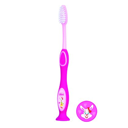 Chicco兒童牙刷 -  * With a cheerful design that is perfect for little boys and girls at the age of three years and up, Chicco's toothbrushes are the ideal companion for learning how to brush teeth properly.