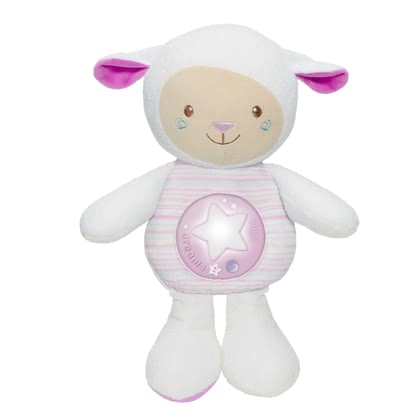 Chicco 睡覺的好朋友音樂玩偶 小羊公仔 -  * This cute little sheep will be your little one's best friend. Suitable for snuggling, falling asleep with or simply playing – this lullaby sheep comes with many great features that will delight your child immediately.