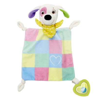 Chicco First Love 玩偶手巾Charlie -  * Chicco's First Love Cuddly Blanket Charlie is a real treat for your new-born child or else a cute little present to give away to expecting moms.
