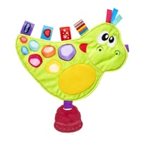Chicco Baby Senses嬰幼兒安撫玩具 -  * The colourful soft toy Dino by Chicco has everything that will make your little one's heart beat faster.