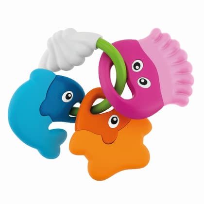 "Chicco Baby Senses寶寶抓握玩具魚造型 -  * Chicco's Clutching Toy ""Fish"" is the perfect toy especially when your little one is teething."