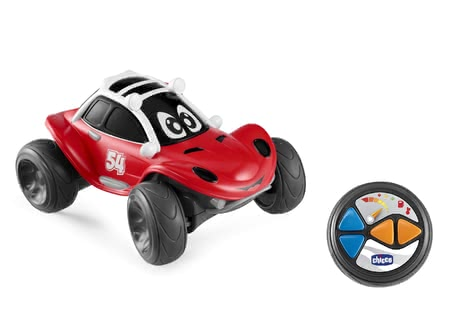 Chicco遙控玩具車Bobby Buggy -  * From now on, Chicco's Bobby Buggy with remote control will race through the nursery and bring ultimate fun into your little one's everyday life.