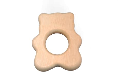 Grünspecht 木質手抓環 -  * The Grünspecht Wooden Clutching Toys are high-quality natural handmade products that feature a natural shape are made of European birch wood.