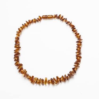 Grünspecht 嬰兒琥珀項鍊 -  * The Grünspecht Baby Amber Necklace is one of the most classic jewellery for babies and toddlers. In the olden days, amber was said to be a sign of power and wealth and even today jewels that are made of or contain pieces of amber are very popular.